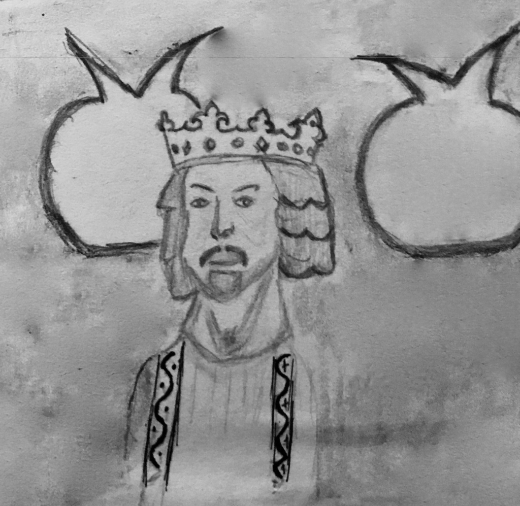 A sketch of King Solomon
